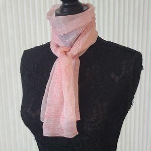 Pink Blush Rectangular Scarf